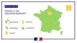 Carte déconfinement Sport